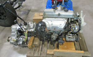 14b Diesel Engine And 4 Speed Transmission And Transfer Case Assembly New