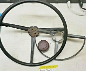 Mopar Steering Wheel A B Body 1967 69 Dart Coronet Roadrunner 1968 Charger Black