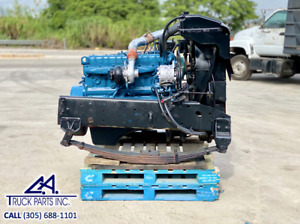 1991 International Dta 360 Diesel Engine For Sale Mechanical Frame Cut