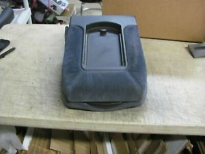 Chevy Silverado Avalanche Tahoe Sierra Center Console Jump Seat Blue 99 06 Gm
