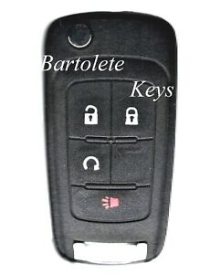 Keyless Entry Remote Car Key Fob For Chevrolet Cruze Equinox Sonic Buick Regal