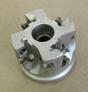 2 Iscar Indexable Face Mill Cutter 3 4 Arbor H490 F90ax D2 00 4 75 17