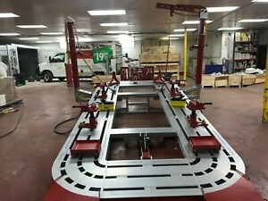 16 Feet Auto Body Frame Machine Free Shipping Clamps Tools Cart Warranty