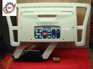 Stryker 3002 Secure Ii Med surg Bed Right Head Siderail All Option Asy