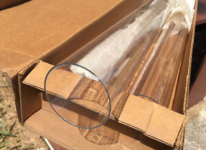 3x Clear Polycarbonate Lexan Tubing 3 Od 6 ft Tube 1 16 Wall