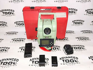 Leica Tcr305 Total Station Reflectorless Dual Displaytransit Level W Case