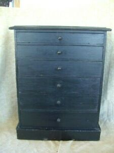 Vintage Wooden Collectors Cabinet Drawers Sovereign Coin Box Watchmakers