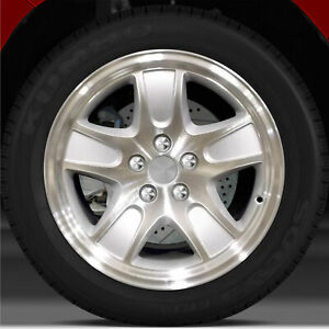 17x7 Factory Wheel sparkle Silver For 2001 2002 Ford Crown Victoria