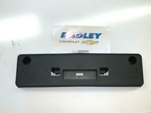 Oem Gm New Front License Plate Tag Bracket Camaro 14 15 22833650 Euro Style