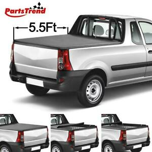 Vinyl Lock Roll Up Tonneau Cover For 2007 2019 Toyota Tundra 5 5ft 66 Short Bed