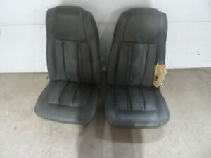 1969 1970 Ford Mustang Cougar Eliminator Mach Highback Front Bucket Seats Grn Xr