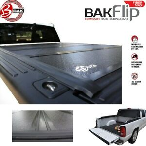 1126126 Bakflip Fibermax Tonneau Cover Colorado Canyon 5 Bed 2015 2019