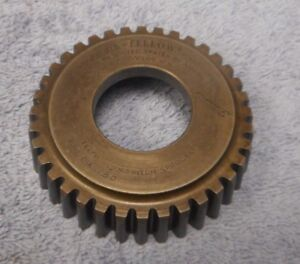 Gear Shaper Cutter Fellows 1 4 Circular Pitch Roller Chain Sprocket