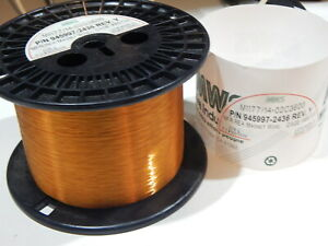 Mws 945997 2436 36awg Magnet Wire 2118 Grams M1177 14 02c3600