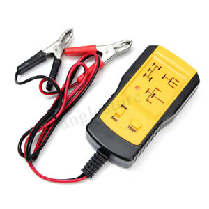 Electronic Automotive Relay Tester For 12v Car Automotive Battery Checker Ae100
