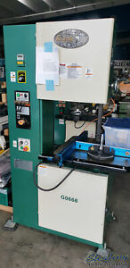 20 Used Grizzly Vertical Bandsaw Mdl G0668 A5514