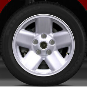 17x8 Factory Wheel Sparkle Silver Full Face For 2002 2003 Dodge Ram 1500