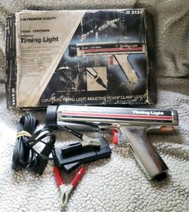 Vintage Sears Craftsman Inductive Timing Light 2134 with Cables Manual