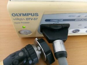 Olympus Visera Otv s7 Digital Processor Including Otv s7 Camera Head