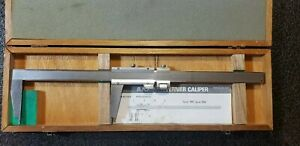 Mitutoyo No 160 124 Inside Outside 12 Vernier Caliper