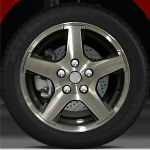17x7 5 Factory Wheel dark Metallic Charcoal For 2005 2007 Jeep Grand Cherokee