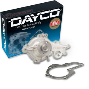 Dayco Water Pump For Pontiac Firefly 1985 1988 Engine Tune Up Accessory Qo