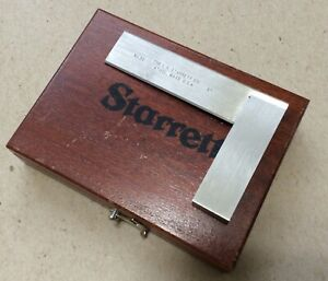 Starrett No 55 3 Square With Box