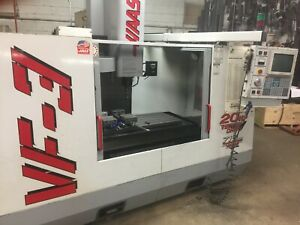 Haas Vf3 Very Low Hours