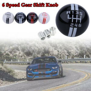 Resin Car Manual Stick Gear Shift Knob 6 Speed For Ford Mustang Shelby Gt500