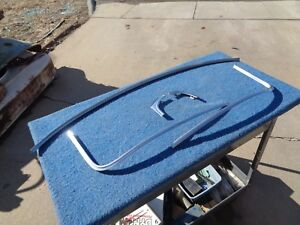 1954 54 1953 53 Chevy Windshield Moldings Bel Air 210 150