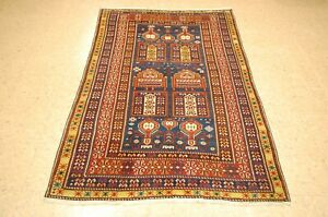 Pre 1900 S Antique Caucasian Shirvan Rug 3 9x6 5 From A Private Collection