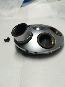 Leitz 5 Postion Quadruple Revolving Nosepiece For Sm lux pol Microscope
