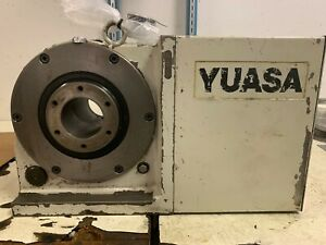 Yuasa 8 Inch Rotary Table used Rft 220 Udx 22001