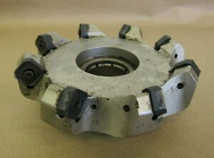 5 5 Iscar Indexable Face Mill Cutter 1 5 Arbor S845 F45sx D5 0 8 1 5 r16