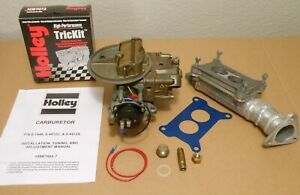 Rebuilt Holley 4412 1 500cfm Turbo Street Race Imca Wissota 289 302 350 351w Ss