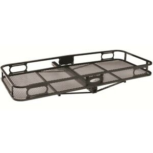 63152 Pro Series 24 X 60 Cargo Carrier With Rails For 2 Receiver Hitch