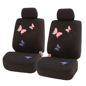 Beautiful Butterfly Car Seat Covers Black Luxury For Car Suv