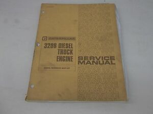 Catepillar 3208 Diesel Truck Engine Serial 40s1 And Up Service Manual