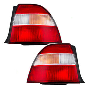 Fits Honda Accord 94 95 Set Of Taillights Tail Lamps