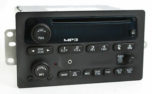 2005 2012 Chevy Gmc Truck Am Fm Mp3 Cd Upgraded Radio W Aux 3 5mm Input 15216905