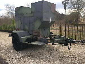 30 Kw Military Diesel Generator John R Hollingsworth Mep 005aas On 2 5 T Trailer