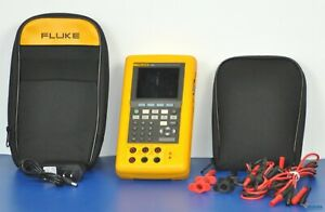 Fluke 743b Documenting Multifunction Process Calibrator Nist Calibrated