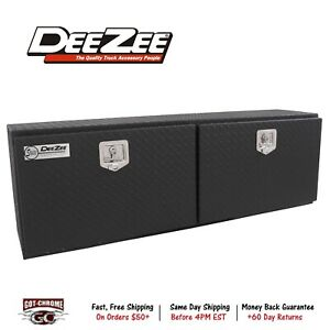 Dz79tb Dee Zee Tool Box Specialty Series Topsider Toolbox Diamond Tread Black