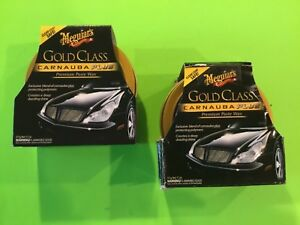 Meguiars Gold Class Carnauba Plus Premium Paste Wax 2 Pack
