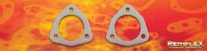 Remflex Exhaust Gaskets 3 Bolt 2 1 4 Pipe Universal Flange Collector Pair 8027