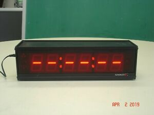 For The Record Cc186 499 u Usb Time court Clock Working No Psu