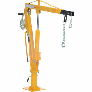 Vestil Winch Operated Truck Jib Crane up To 2k Lb Capacity Wtj 4