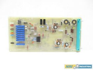 General Electric Ge 142d7274g3 Cv Position Control Pcb Circuit Board
