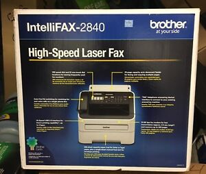 Brother Intelli Fax 2840 High speed Laser Machine 29 Page Print Count
