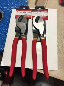 Innovative Tools Cable Cutters 9 1 2 new 2 Pcs